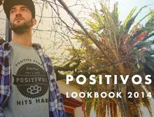 diseño y sesión fotográfica para Positivos Wear